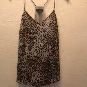 Banana republic small leopard cami